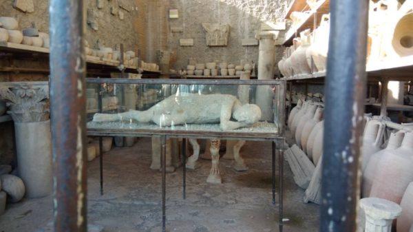 ancient ruins Pompeii