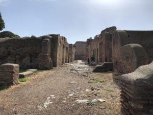 archeological park Ostia