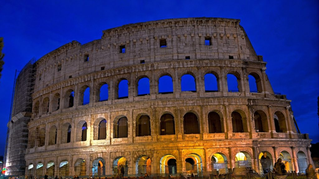 tour colosseo rome by night