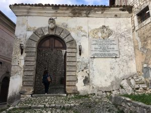 entrance anagni cathedral
